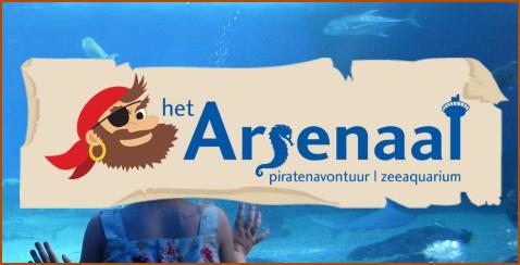 Aquarium Het Arsenaal in Vlissingen